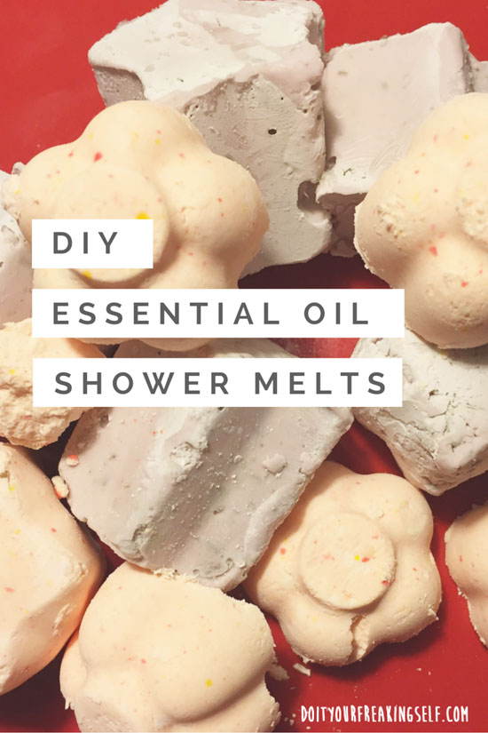No time for a bath? Make your own shower soothers with just 3 ingredients. Great for de-stressing, relaxation and rejuvenation - doityourfreakingself.com