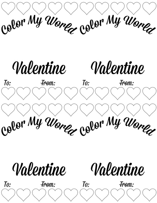 DIY Valentines with your kids - Melted crayon hearts - Doityourfreakingself.com