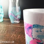 Use your old nail polish and make a Watercolor Coffee Mug!