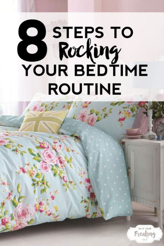 Rock your Bedtime Routine, get better sleep, get to sleep faster and make your own sleep mask!
