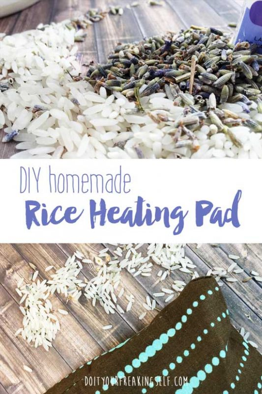 This homemade rice heating pad is a simple, useful project for beginners. Easy to follow tutorial. Keeps you safely toasty warm for up to an hour!