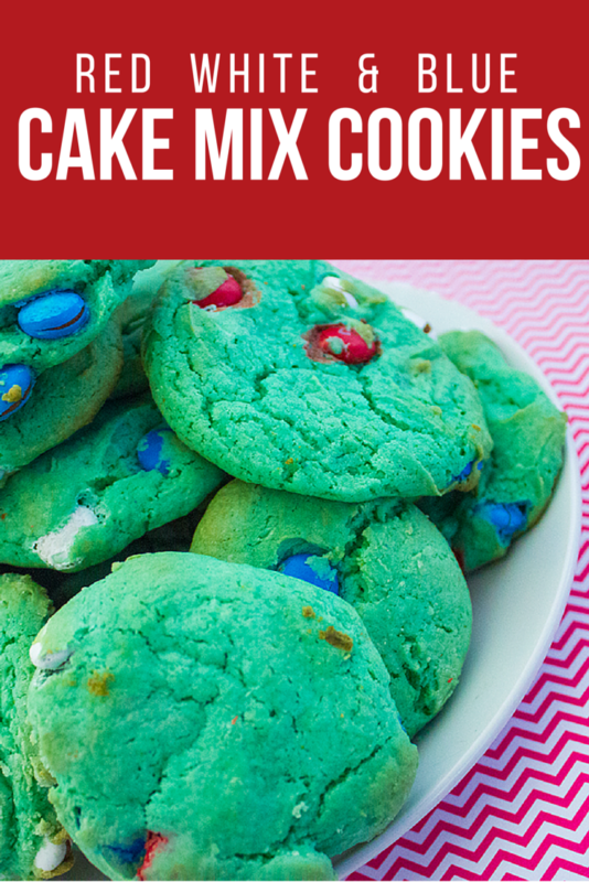 Make Red White and Blue cookies for Memorial Day or 4th of July! Simple recipe to make for your patriotic parties and get togethers.