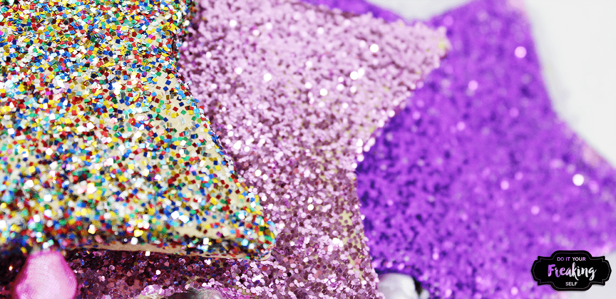 Do you have a princess in the fairy phase or just loves magic? Make your own Glitter Star Wand for dress up, parties, halloween and more!