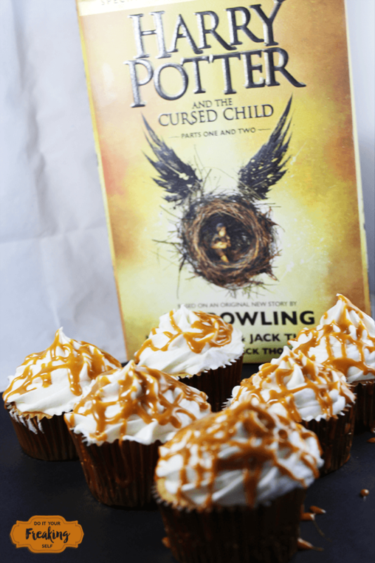 Who says Harry Potter is just for kids? Make these Magical and Delicious boozy butterbeer cupcakes for your next party and cast a spell on your friends.