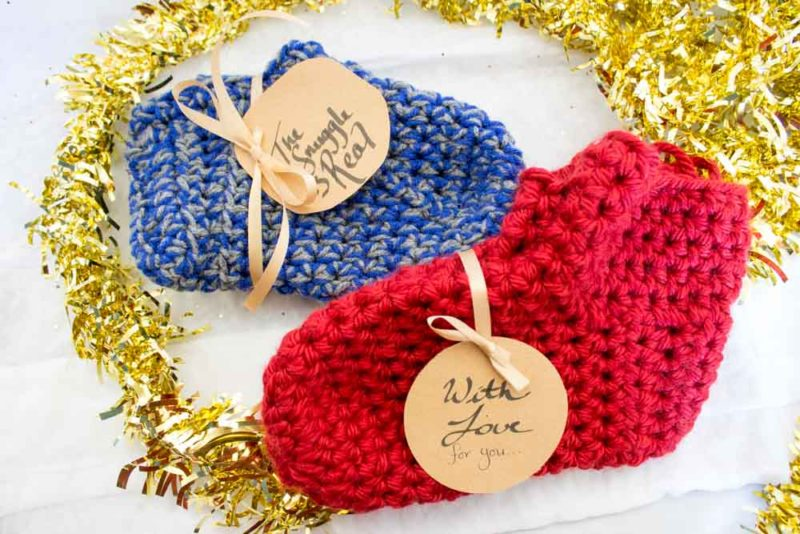 18bf3fb461f7 Do It Your Freaking Self - Easy Crochet Slippers - Do It Your ...