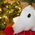 Now you can take Zero from Nightmare Before Christmas with you wherever you go with this DIY Zero Pillow Pal! A great gift for that Tim Burton lover in your life!| Stuffed Animal | Pillow Pet | Sewing project | Kids Gifts | Do It Your Freaking Self