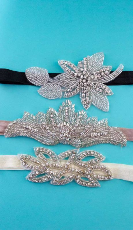 Learn how to make your own easy vintage inspired 1920's crystal headband. A wonderful and classy addition to your party dress or themed event! | DIY | Art Deco | Headpiece | Do It Your Freaking Self