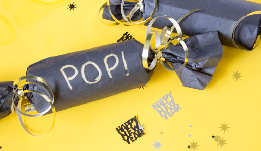 Have fun setting your New Years Resolutions this year with a DIY party cracker! - New Years Eve | Party Popper | confetti popper - Do It Your Freaking Self
