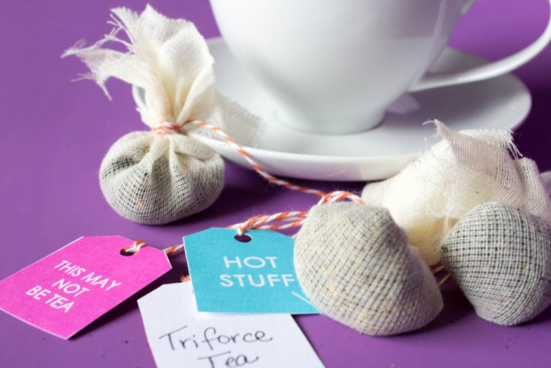 Do It Your Freaking Self Diy Tea Bags With Sassy Printable Tags