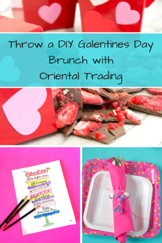 Throw a DIY Galentines Day Party! 3 fun projects to make and create with or for your gal pals!