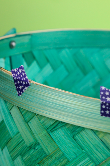 Spruce up a simple basket for your own DIY Tassel Basket for Easter! Perfect for a grown up look with all the fun you remember when you were a kid!