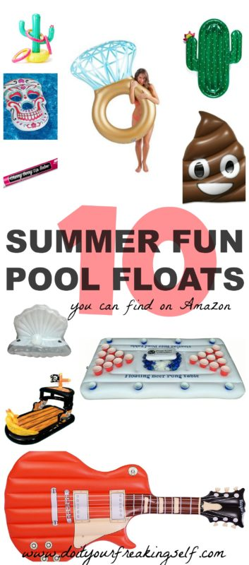 Your swimming pool should be home to giant flamingos, unicorns and champagne dreams this summer! Check out this season's hottest pool floats!