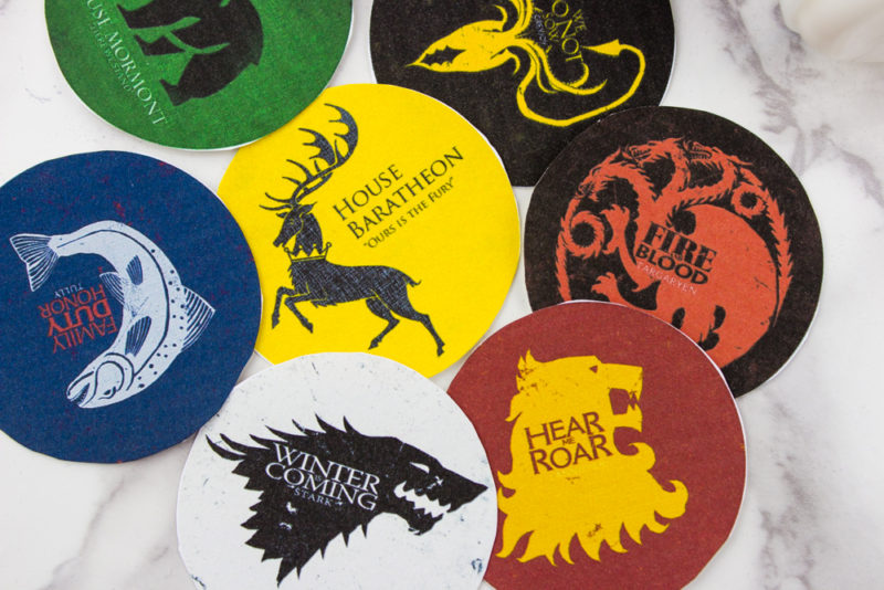 Do It Your Freaking Self Diy Game Of Thrones House Sigil Glasses