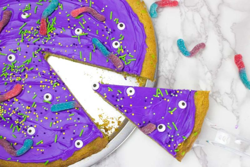 Cake Mix Monster Cookie Cake - Serve