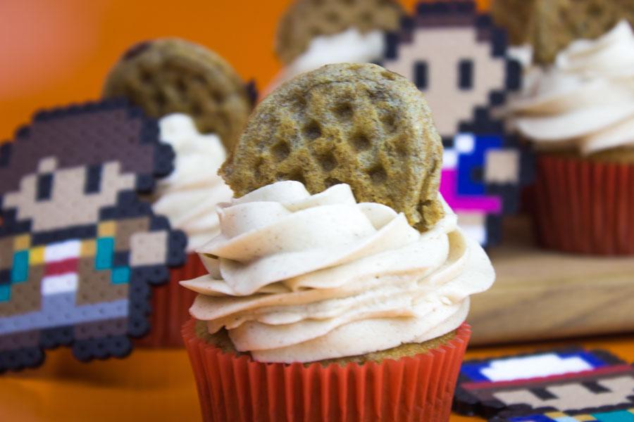 Stranger Things Eleven's Eggo Cupcakes