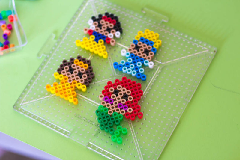 perler bead princess pattern