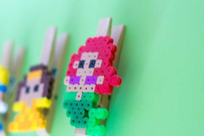 Do It Your Freaking Self - How to make Perler Bead Princess