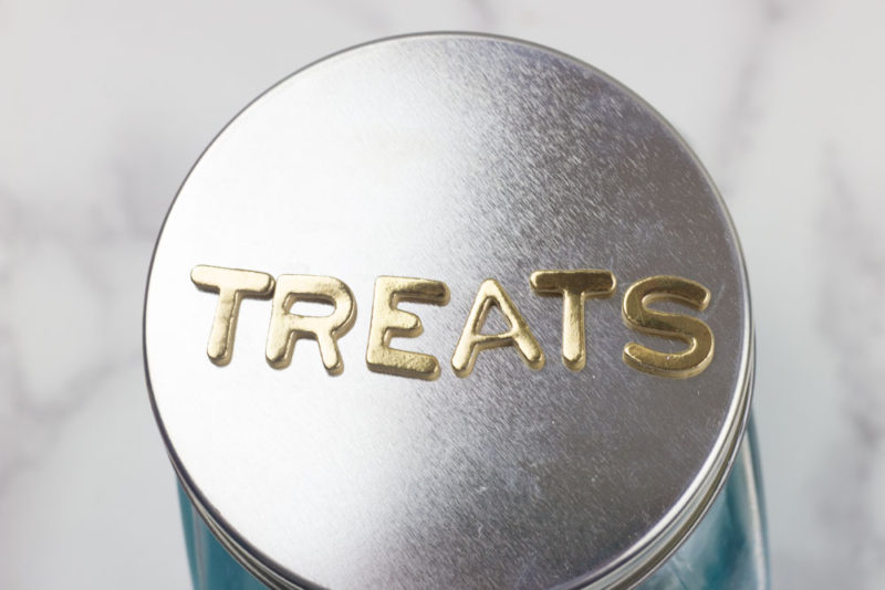 cat treat jar - treats - alphabet stickers