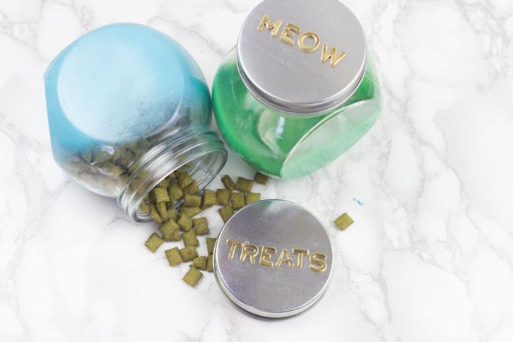 blendo diy cat treats jar