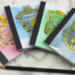 Hogwarts Inspired House Mini-Notebooks