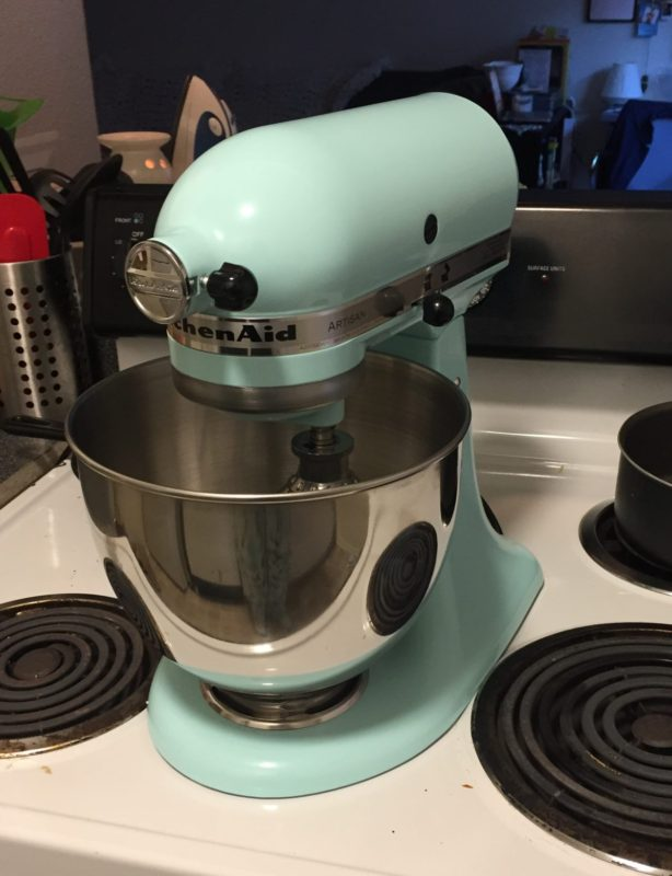 kitchenaid - stand mixer - ice blue