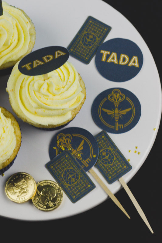 free printable syfy the magicians cupcake toppers