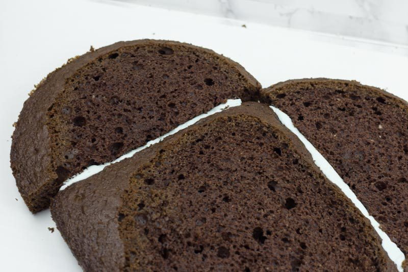 heart cake hack