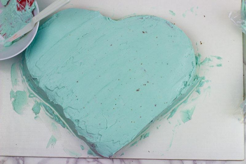 I like your butt heart cake