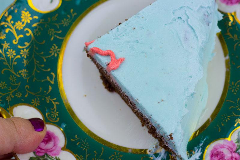 I like your butt heart cake - CAKE SLICE