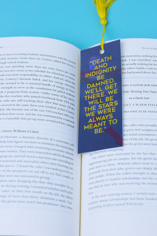 captain marvel bookmarks - printable - doityourfreakingself.com