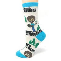 Happy Little Trees Socks