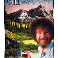 BobRoss Chill Throw Standard