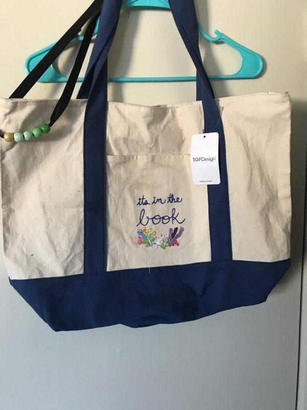 Embroidered Bag. Florals